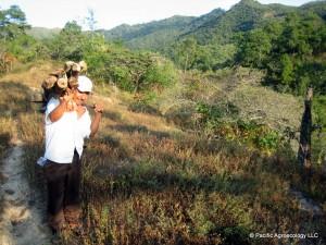 Valerio carries wood in Oaxaca